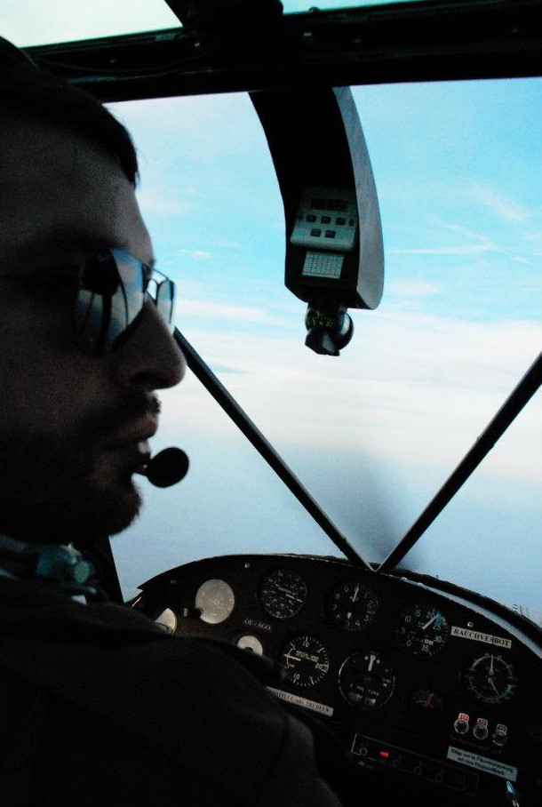 PA18 Cub Cockpit