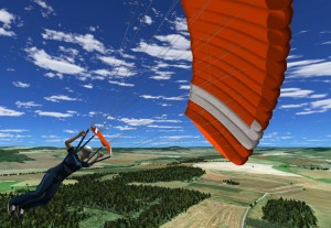 "Screenshot of ""Hop and Pop VR"" Skydiving Simulator"